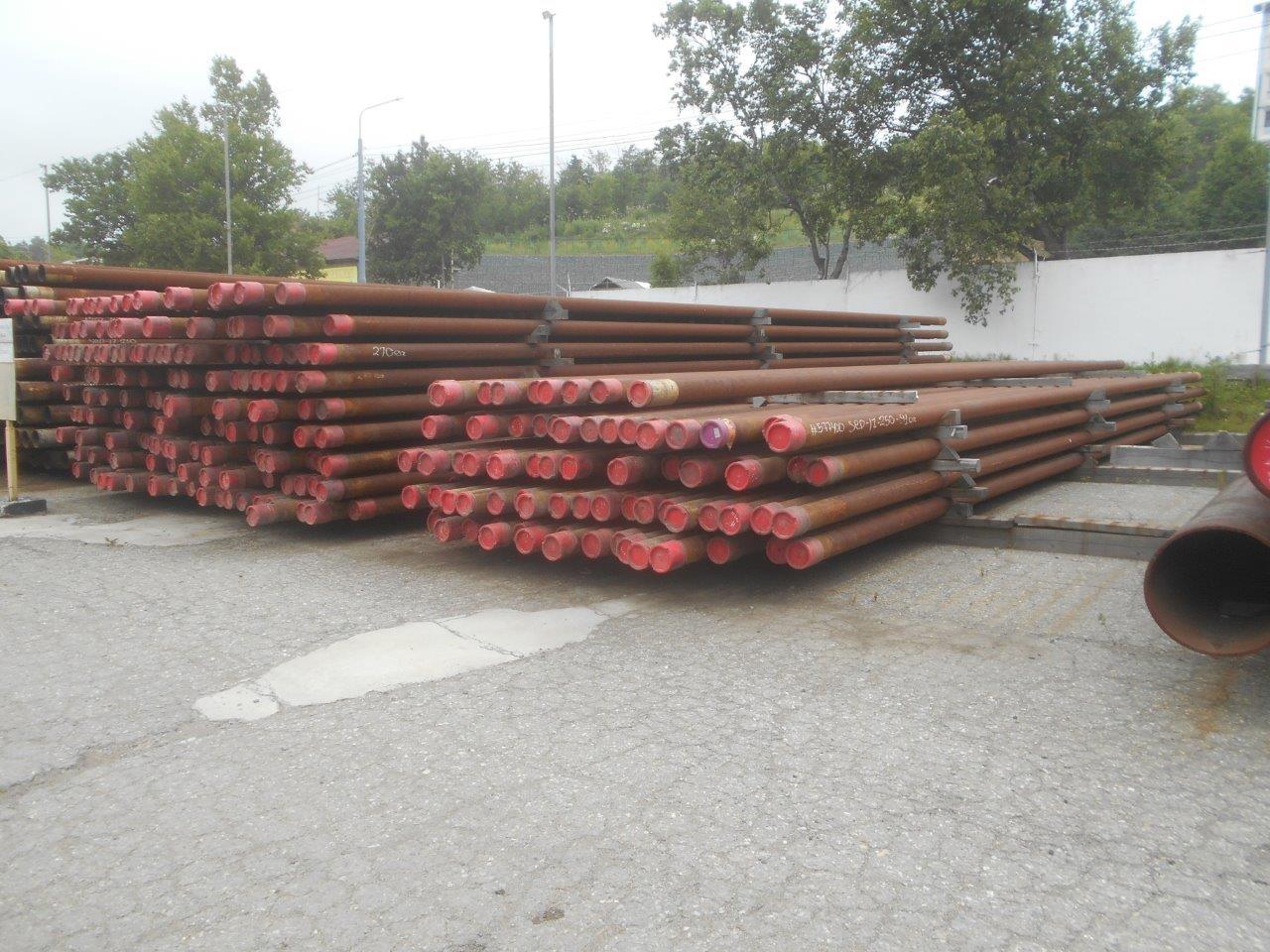 Труба насосно-компрессорная 139,7мм, сталь, б/у, 399шт (17-250-3)