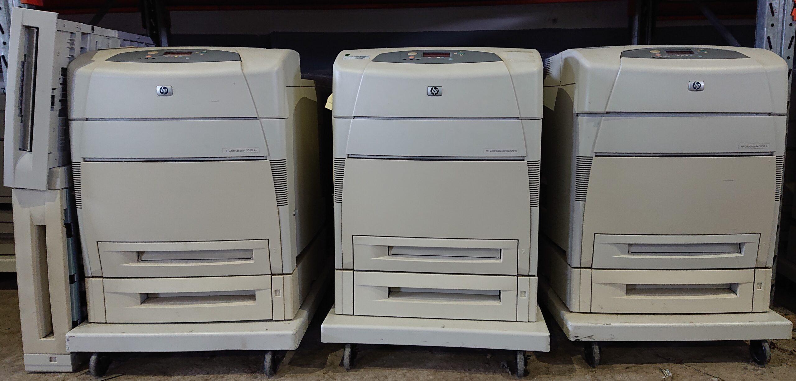 Принтеры HP LaserJet 5500/5550, б/у (20-421-4)