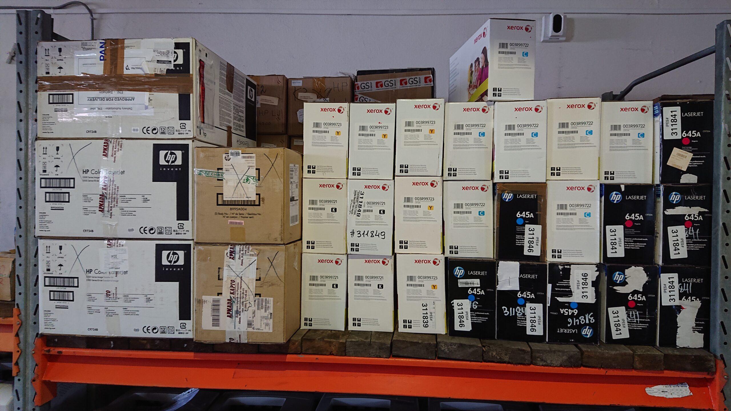 Картриджи и узел переноса изображения для HP LaserJet 5500 (20-421-2)