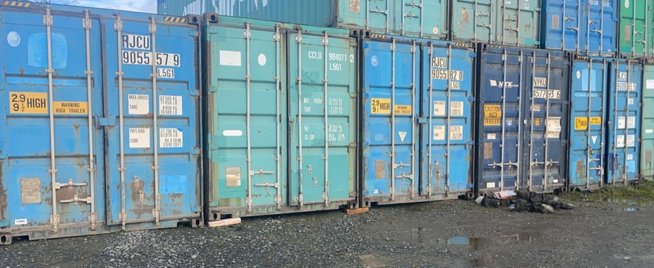 45 футовые контейнера - 5 шт