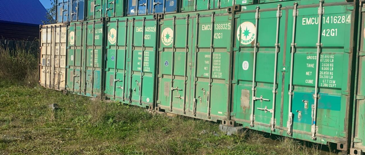 40 футовые контейнера - 5 штук
