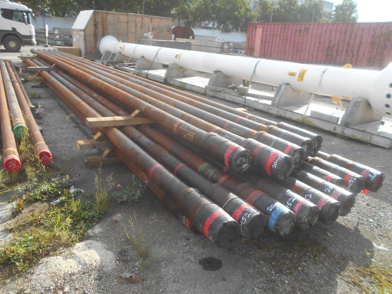 Труба бурильная 149,2 мм, 168,3 мм, сталь, Б/У, 100 шт.(20-452-1)