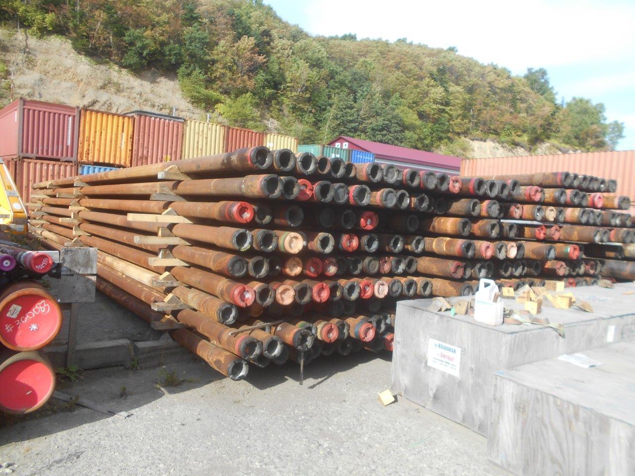 Труба бурильная 149,2 мм, сталь, Б/У, 169 шт. (20-452-2)